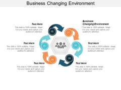 Business Changing Environment Ppt PowerPoint Presentation Summary Show Cpb