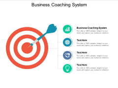 Business Coaching System Ppt PowerPoint Presentation Model Files