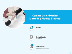 Business Commodity Market KPIS Contact Us For Product Marketing Metrics Proposal Download PDF