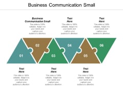 Business Communication Small Ppt PowerPoint Presentation Pictures Example Topics