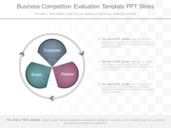 Business Competition Evaluation Template Ppt Slides