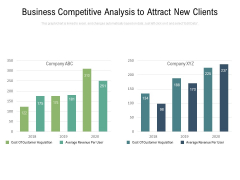 Business Competitive Analysis To Attract New Clients Ppt PowerPoint Presentation Icon Format PDF