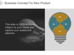 Business Concept For New Product Ppt PowerPoint Presentation Templates