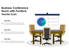Business Conference Room With Furniture Vector Icon Ppt PowerPoint Presentation File Master Slide PDF