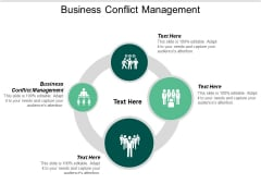 Business Conflict Management Ppt PowerPoint Presentation Infographics Vector Cpb