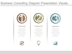 Business Consulting Diagram Presentation Visuals