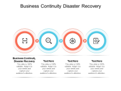 Business Continuity Disaster Recovery Ppt PowerPoint Presentation Model Guide Cpb