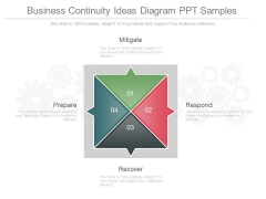 Business Continuity Ideas Diagram Ppt Samples