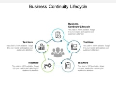 Business Continuity Lifecycle Ppt PowerPoint Presentation Model Template