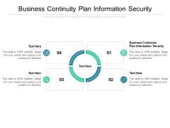 Business Continuity Plan Information Security Ppt PowerPoint Presentation Gallery Layouts Cpb