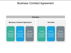 Business Contract Agreement Ppt PowerPoint Presentation Visual Aids Summary Cpb