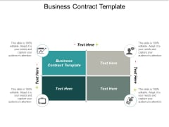 Business Contract Template Ppt PowerPoint Presentation Pictures Templates