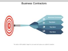 Business Contractors Ppt PowerPoint Presentation Infographics Slideshow