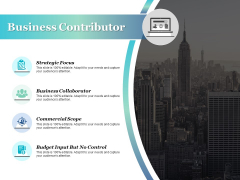 Business Contributor Ppt PowerPoint Presentation Inspiration Examples