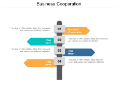 Business Cooperation Ppt PowerPoint Presentation Gallery Infographics