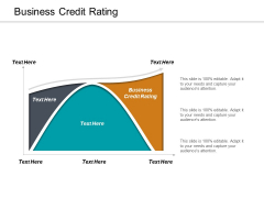 Business Credit Rating Ppt PowerPoint Presentation Layouts Sample Cpb