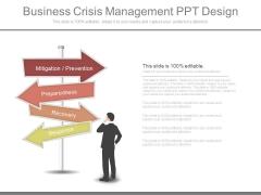 Business Crisis Management Ppt Design