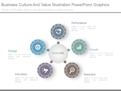 Business Culture And Value Illustration Powerpoint Graphics