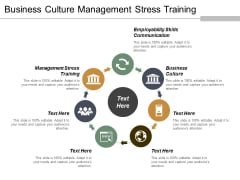 Business Culture Management Stress Training Employability Skills Communication Ppt PowerPoint Presentation Infographics Example