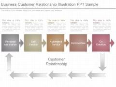 Business Customer Relationship Illustration Ppt Sample