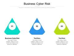 Business Cyber Risk Ppt PowerPoint Presentation Ideas Designs Download Cpb