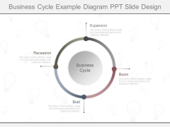 Business Cycle Example Diagram Ppt Slide Design
