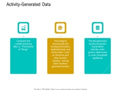 Business Data Analysis Activity Generated Data Guidelines PDF