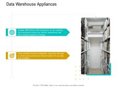 Business Data Analysis Data Warehouse Appliances Download PDF