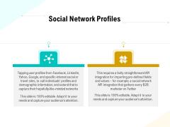Business Data Analysis Social Network Profiles Microsoft PDF