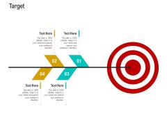 Business Data Analysis Target Icons PDF
