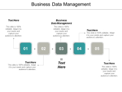 Business Data Management Ppt PowerPoint Presentation Gallery Demonstration Cpb