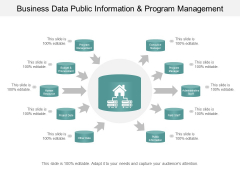 Business Data Public Information And Program Management Ppt PowerPoint Presentation File Deck