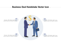 Business Deal Handshake Vector Icon Ppt PowerPoint Presentation File Visuals