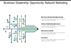 Business Dealership Opportunity Network Marketing Business Executives Guide Ppt PowerPoint Presentation Icon Smartart