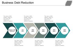 Business Debt Reduction Ppt PowerPoint Presentation Professional Designs