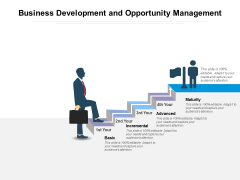 Business Development And Opportunity Management Ppt PowerPoint Presentation Infographic Template Smartart PDF