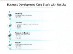 Business Development Case Study With Results Ppt PowerPoint Presentation Gallery Guide