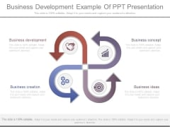 Business Development Example Of Ppt Presentation