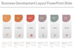 Business Development Layout Powerpoint Slide