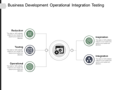 Business Development Operational Integration Testing Ppt PowerPoint Presentation File Deck