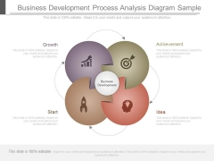 Business Development Process Analysis Diagram Sample