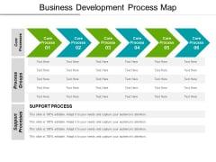 Business Development Process Map Ppt PowerPoint Presentation File Information PDF