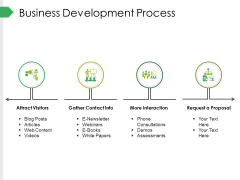Business Development Process Ppt PowerPoint Presentation Infographic Template Graphics