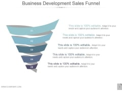Business Development Sales Funnel Ppt PowerPoint Presentation Images