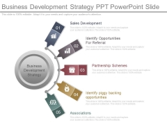 Business Development Strategy Ppt Powerpoint Slide