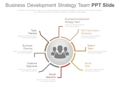 Business Development Strategy Team Ppt Slide