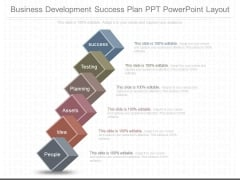 Business Development Success Plan Ppt Powerpoint Layout