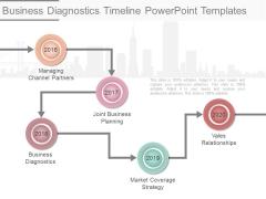 Business Diagnostics Timeline Powerpoint Templates