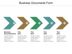Business Documents Form Ppt PowerPoint Presentation Show Graphics Example
