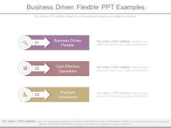 Business Driven Flexible Ppt Examples
